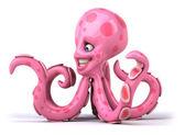 Fun octopus — Stock Photo