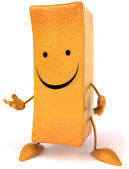 Happy French fry — Stock Photo
