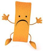 Sad French fry — Stock Photo