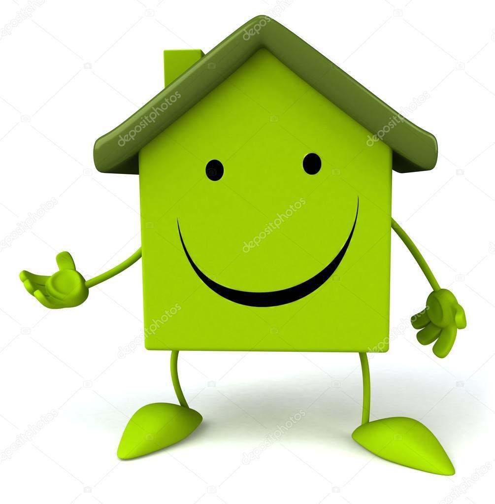 绿房子 — 图库照片08julos#51279711