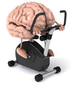 Beyin çalışma dışarı eğlenceli — Stok fotoğraf