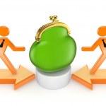 Teamwork concept. — Stock Photo