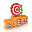 SEO concept. — Stock Photo