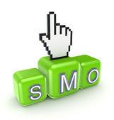 SMO concept. — Stock Photo