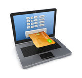 Online payments concept. — Foto Stock