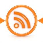 RSS icon. — Stock Photo