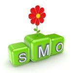 Понятие SMO — Стоковое фото