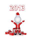 Concetto nuovo anno 2013. — Foto Stock