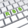 RSS concept. - Stock Photo