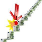 Financial crisis concept. — Stock Photo