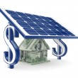 Solar energy concept — Stock Photo