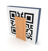 QR code concept. — Stock Photo