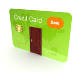 Credit card. — Stock Photo