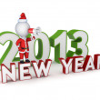 New Year 2013. — Stock Photo