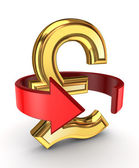 Money turnover concept. — Stock Photo