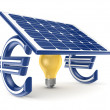 Solar energy concept. — Stock Photo #22637563