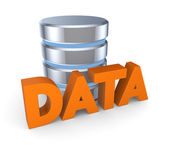 Database concept. — Stock Photo