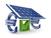 Solar energy concept. — Stock Photo