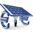Solar energy concept. - Stock Photo