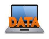 Data concept. — Stock Photo