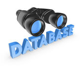 Database concept. — Stock Photo
