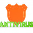 Stock Photo: Antivirus concept.