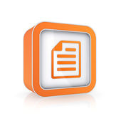 Icono de bloc de notas. — Foto de Stock