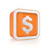 Dollar icon. — Stock Photo