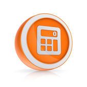 Calculator icon. — Stock Photo