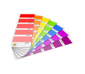 Colour sampler. — 图库照片