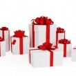 Gift boxes — Stock Photo #8432712