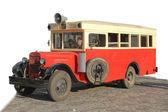 Retro bus ZIS-8 USSR 1934-1936 — Stock Photo