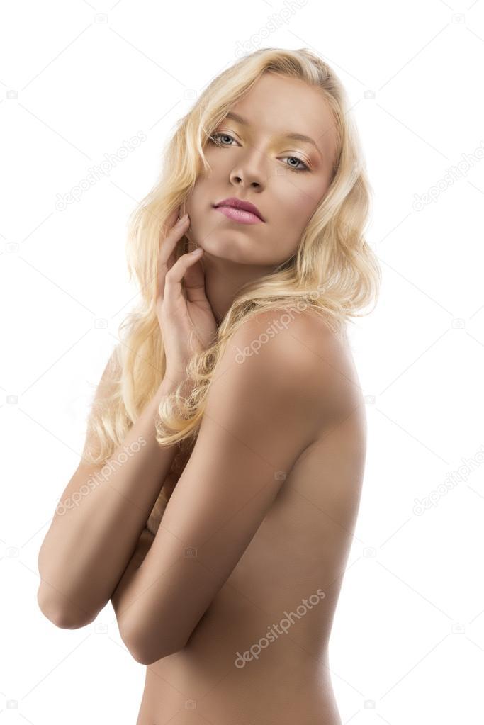 Pretty Naked Blonde 21