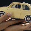 Hands and 500 fiat — Stock Photo #4702725