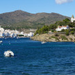 Cadaques village in the Costa Brava - Lizenzfreies Foto