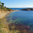 Mediterranean beach with clear waters in Costa Brava - Lizenzfreies Foto