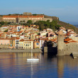 Beautiful Mediterranean village of Collioure — Stockfoto