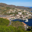 Royalty-Free Stock Photo: Panorama over Mediterranean coast in France