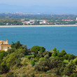 Mediterranean coast in south of Roussillon — Stock Photo