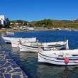 Stock Photo: Traditional Mediterranean fishing boats