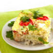 Stock Photo: Vegetable casserole