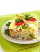 Vegetable casserole — Stock Photo