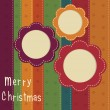 Christmas vintage background — Stock Vector #15688353