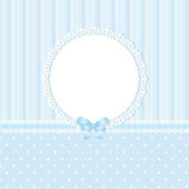 Baby blue background — Stock Vector