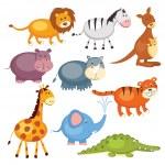 Wild animals — Stock Vector #26629409