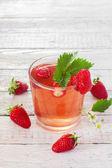 Strawberry compote — Stock Photo