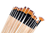 Paint brushes, isolated on a white background — Stock Photo