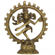 Shiva Nataraja, isolated on white background — Stock Photo
