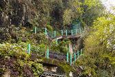 Escalera en las montañas — Foto de Stock