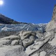 Stock Photo: Nigardsbreen Glacier - HDR